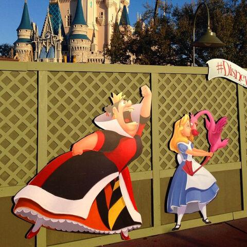 File:Alice in Wonderland construction wall artwork.jpg