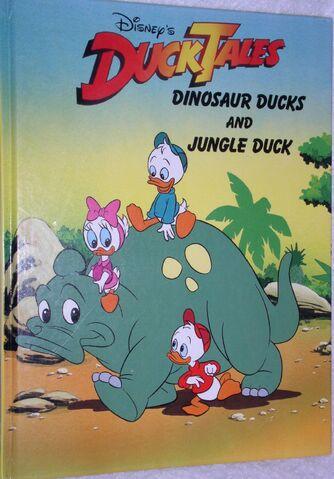 File:Dinosaur ducks and jungle duck.jpg