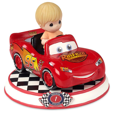 File:Lightning McQueen Figurine by Precious Moments - Cars.jpg