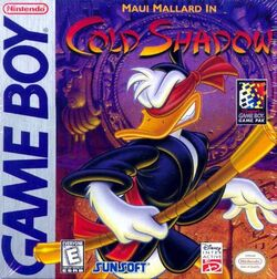 Maui Mallard Game Boy Cover