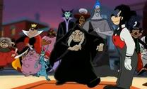 Max recibe villanos