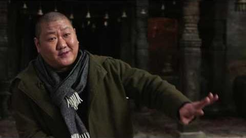 "Doctor Strange ""Wong"" Behind The Scenes Interview - Benedict Wong"