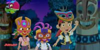 The Tiki Masquerade Mystery (Jake And The Never Land Pirates)