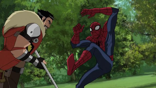 File:Kraven & Spider-Man USMWW 1.png