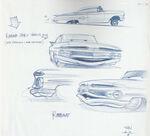 Pixar Cars Characters Sketches 05 Ramone