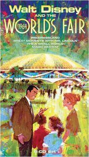 Walt Disney and the 1964 World's Fair box set cover