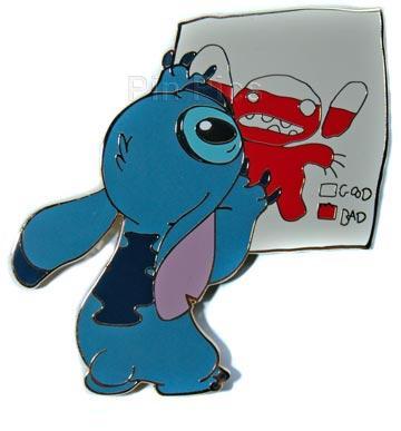 File:DisneyStore.com - Stitch's Badness Level Jumbo Pin.jpeg