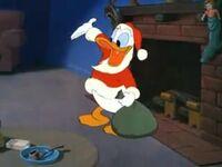 Donald as Santa