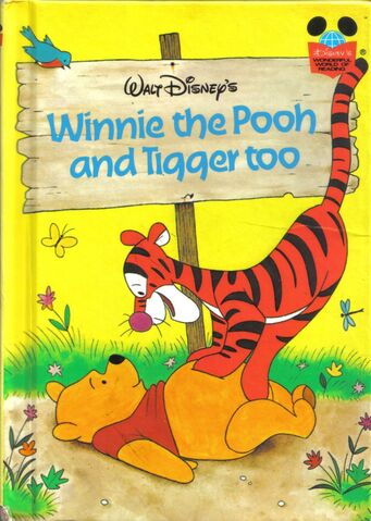 File:Walt Disney's Winnie the Pooh and Tigger too Classic Book Cover.jpg