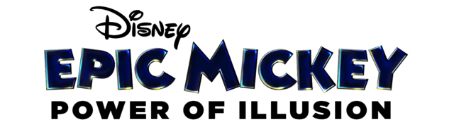 File:Epic mickey power of illusion logo.png