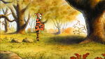 Tigger is doing a bit of bounceing