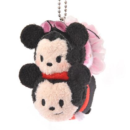 File:Halloween Minnie and Mickey Tsum Tsum Keychain.jpg