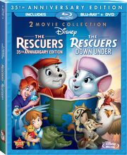 The Rescuers Blu-ray and DVD