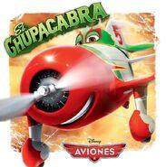Aviones el chupacabra