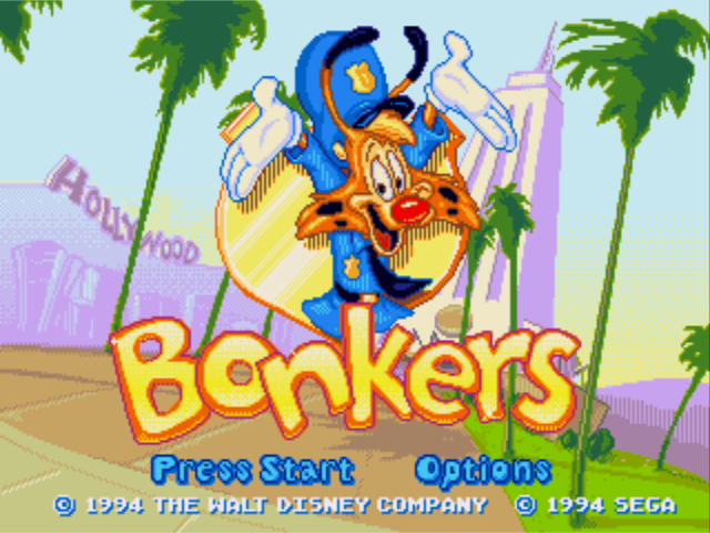 File:Bonkers (Genesis-Mega Drive) - Title Screen.png