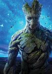 Textless Groot GOTG Poster