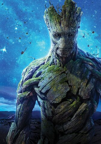 File:Textless Groot GOTG Poster.jpg
