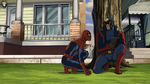 Spider-Man and Star-Lord USWW