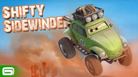 Cars Fast as Lightning - Shifty Sidewinder is here!