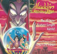 The Return of Jafar - 1994 Promotional Print Ad Booklet - 2