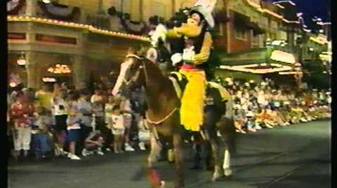 Disney World Parades All American Parade 1989 Part 3