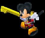King Mickey (Battle) KHII