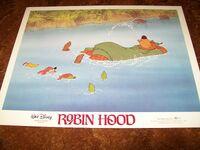 Robin hood 1982 reissue lobby card