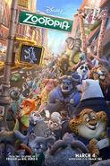 Zootopia IMAX 3D Poster