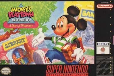 File:Mickey's Playtown Adventure SNES Cover.jpg