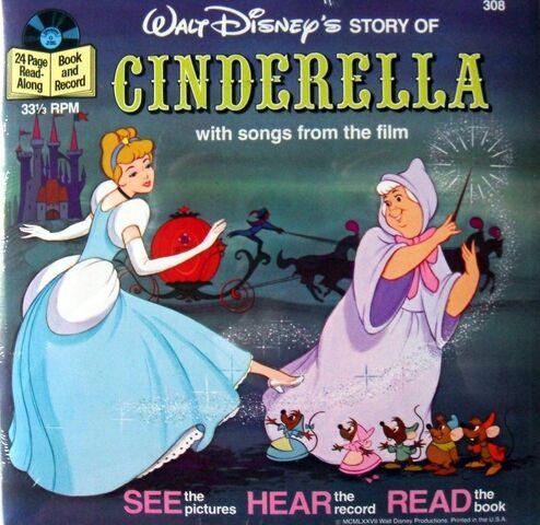 File:Cinderella Disney Read-Along Record.JPG