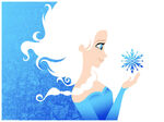 Frozen Disney Screen Print Poster by Michael De Pippo Ltd Ed 1000 NT Mondo