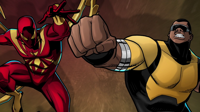 File:Iron-Spider and Power Man USMWW.png