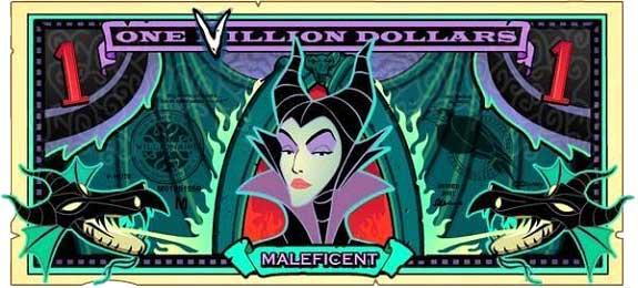 File:Maleficent's One Villain dollar bill.jpg