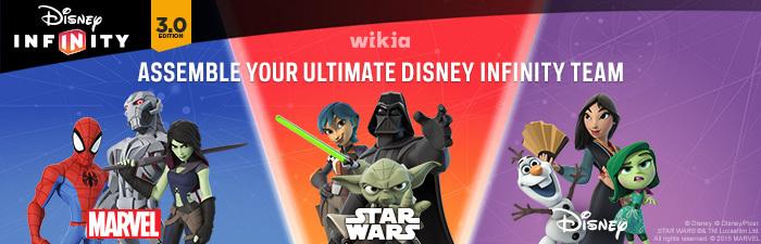 Disney Infinity Team Header