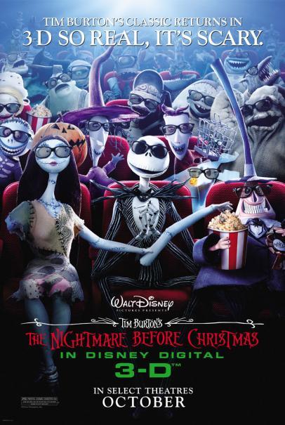 Image - Nightmare Before Christmas poster.jpg | Disney Wiki ...