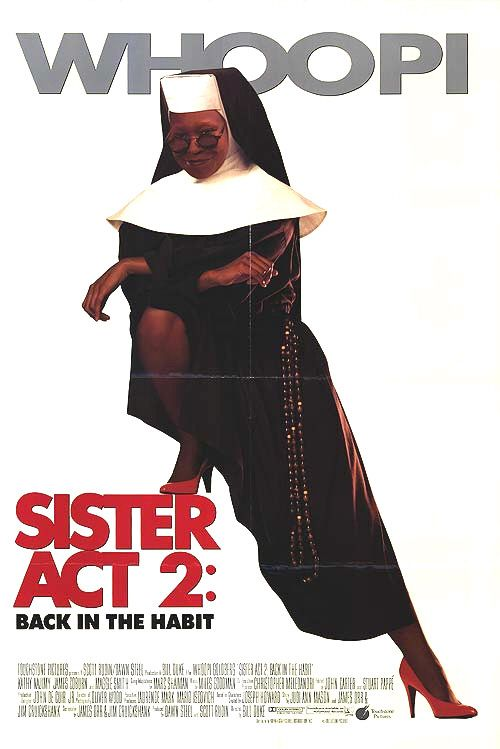 File:Original movie poster for the film Sister Act 2, Back in the Habit.jpg