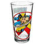 Glass Wolverine Tumbler