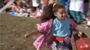 Jessica in the picnic games