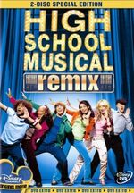 HSM Remix Two Disc Special Edition DVD