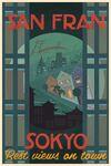 San Fransokyo Travel Poster 04