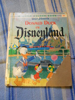 Donald duck in disneyland 2