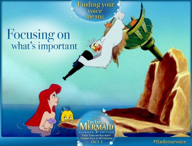 File:The Little Mermaid Diamond Edition Finding Your Voice Means Focusing on What's Important Promotion.jpg