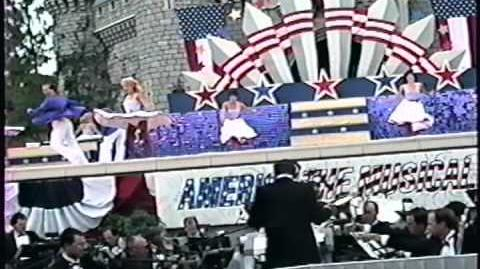 Disney World Shows America The Musical 4th July Spectacular Part 1