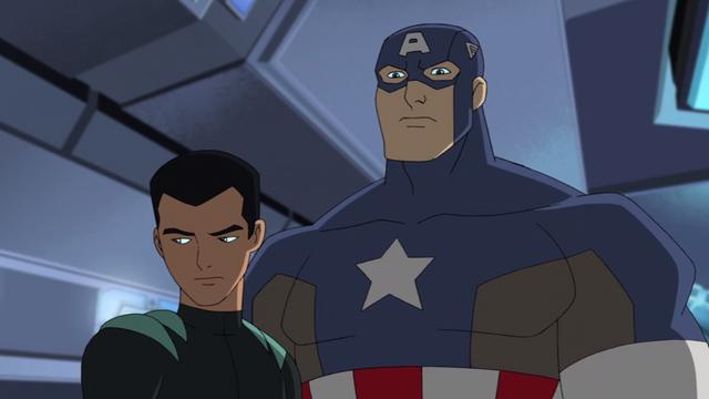 File:Reptil & Captain America.png