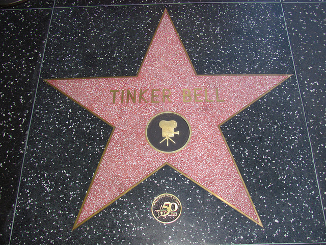 File:Tinker Bell's star on the Hollywood Walk of Fame.jpg