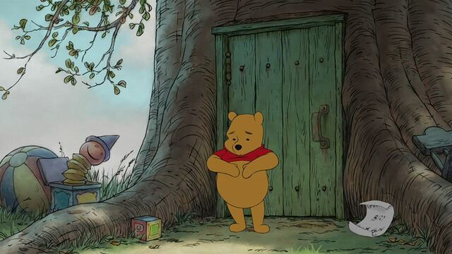File:Winnie the Pooh Just then Pooh spoted a note.jpg