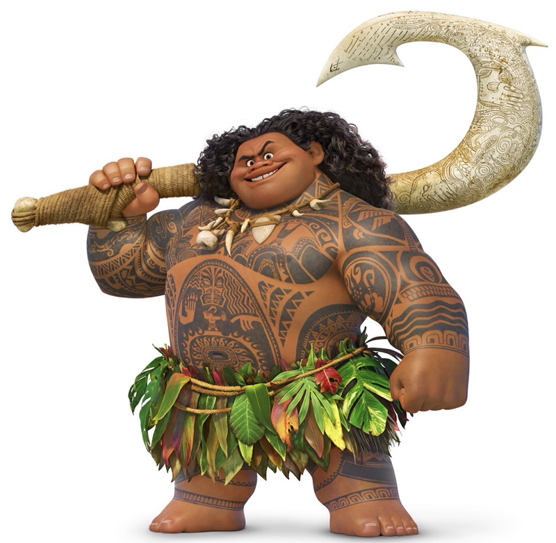 Image result for maui and moana
