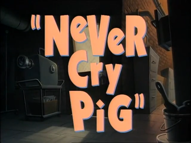 File:Never Cry Pig - Title.png