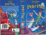 PETER PAN VHS UK 1993