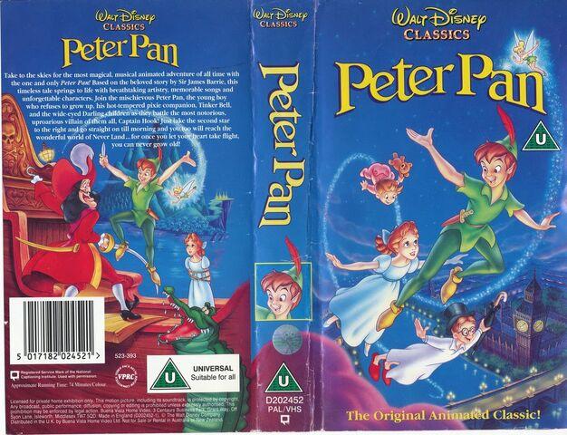 File:PETER PAN VHS UK 1993.jpg